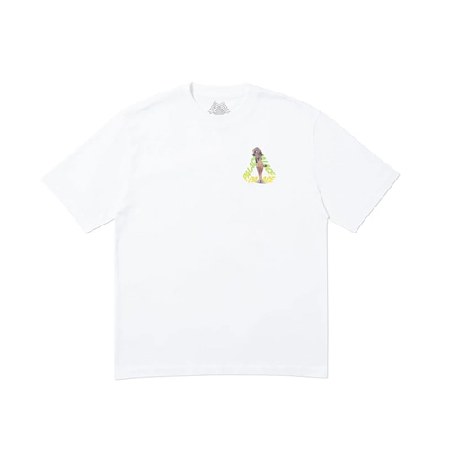 팔라스 롤스 P3 티셔츠 Palace Rolls P3 T-Shirt White