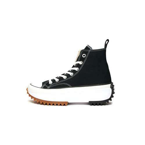 컨버스 런스타 하이크 블랙 Converse Run Star Hike Hi Black White Gum 166800C