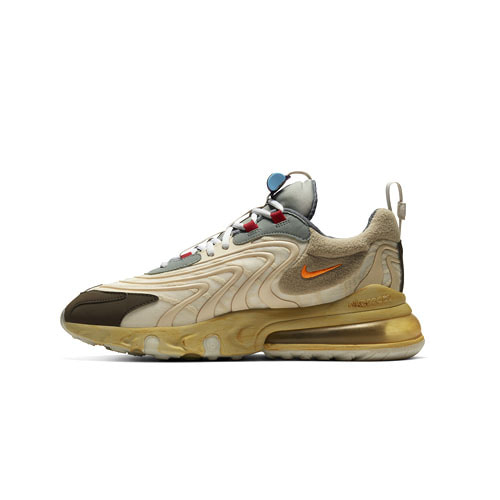 트래비스 스캇 나이키 에어 맥스 270 Travis Scott Nike Air Max 270 React Cactus Trails CT2864-200