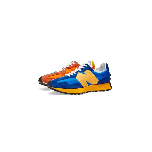 뉴발란스 327 블루 오렌지 New Balance 327 Blue Orange MS327LAA